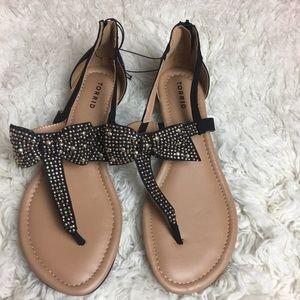 TORRID bow sandal